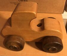 Wooden Toy Car, Wood-Works Toy Company, Corvallis, Oregon