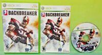 Backbreaker Football  - Microsoft Xbox 360  Game - Tested Works Complete