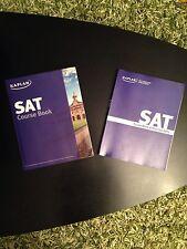 A Set Of 2 Kaplan SAT Purple Book   Course Book   Practice SATs   Paperback