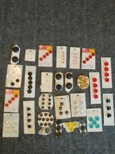Lot Of Vintage buttons on Cards
