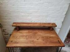 Good quality  chunky Rustic wood tv stand, reclaimed pine