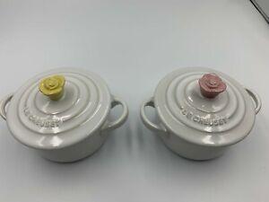 Le Creuset Mini Rose Cocotte Set of 2