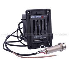 1pcs Fishman Classic 4 deluxe pickup EQ Tonabnehmer piezo preamp