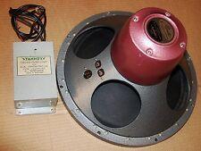"VINTAGE TANNOY MONITOR 15"" LSU/HF/15L  Red/Orange Dustcap"