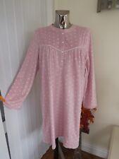 42ba9a33bd Fleece Long Sleeve Nightdresses Shirts Women s Lingerie   Nightwear ...