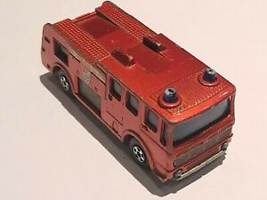 MATCHBOX  SERIES  No 35 MERRYWEATHER FIRE ENGINE . Vintage 1969. Rare. By Lesney