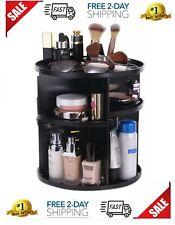 360 Organizador Giratorio De Acrilico Maquillaje Para Cosmeticos Profesional New