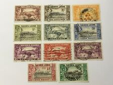 old stamps   SIERRA LEONE   x  11 KGVI