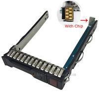 """HP G8 Gen8 651687-001 SFF 2.5"""" HDD Tray Caddy 651699 DL380p DL388 DL360p DL160"""