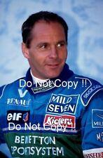 Gerhard Berger Benetton F1 Portrait 1996 Photograph 1