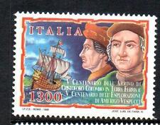 ITALIA 1998 MNH sg2511 cinquecentesimo anvs COLOMBO IN VENEZUELA / VESPUCCI's esplorazioni