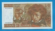 GERTBROLEN  10 FRANCS ( BERLIOZ  ) du 4-4-1974   V.43