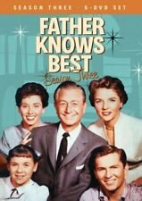 FATHER KNOWS BEST SEASON 3 New Sealed 5 DVD Set