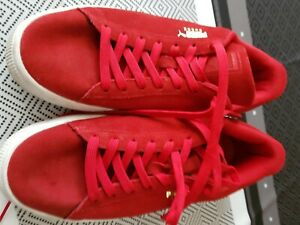 basket puma taille 43 rouge