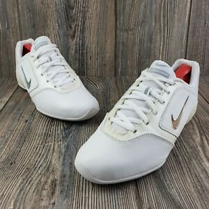 Nike Sideline II Insert Womens Cheerleading Shoes White Size 7.5 EUC