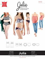 Jalie 3886 Julia Camisole, Bralette & Panties Sewing Pattern Women & Girls sizes