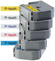 Beschriftungsband original Brother P-touch M-K221S sw auf ws 9mm 4m MK221S MK221