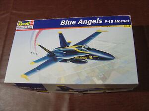 NEW BLUE ANGELS F/A-18 HORNET Revell PLASTIC MODEL1:48 SCALE