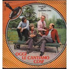 Quartetto Cetra Lp Vinile Oggi Le Cantiamo Cosi / Super Oscar SPO 575 Nuovo