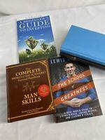 Mixed Lot of 4 Business Books Investing Money Stock Market Finances Economic 8