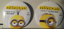 Minions Movie Advertising 2 Collectible Pin / Button