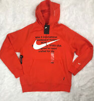 New Nike Men's Goddess Victory Hoodie Size L Large Sweater Fleece CJ4861-891