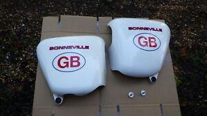Triumph Bonneville Side Covers Left & Right (pair)  2009 - 2015