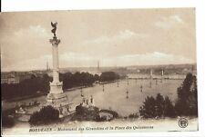 CPA-Carte postale-FRANCE -   Bordeaux - Monument des Girondains - 1924- S338