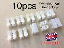 10 x Electrical Connectors Quick / Auto / Audio Terminals Self Locking Fast .