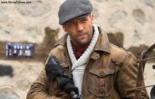 Genuine Distressed The Expendables 2 Jason Statham Stylish Leather Jacket