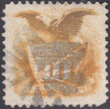USA Scott #116 10ct 1869 Pictorial Used VF-XF Fancy Cancel