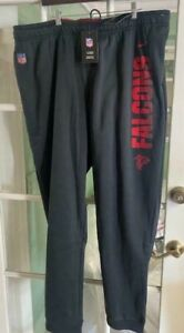 Men's Nike Therma On Field Atlanta Falcons Joggers Black AO4067-010 Size XL