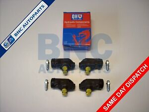 FRONT BRAKE CYLINDER SET OF 4 for FORD ANGLIA 105E & 123E (front drum brakes) QH