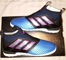 Adidas ACE Tango 17+ Purecontrol Soccer Futbol Sneakers Shoes Men's Sz 10.5