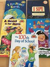 Lot 5: Hello Reader! The 100th Day Of School, A Head Is For Hats, Earth, I Spy