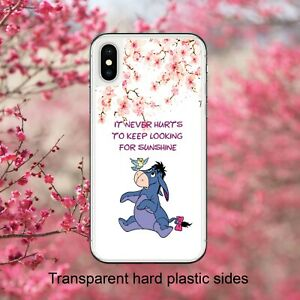 Disney Eeyore Sunshine Quote Case Cover for iPhone Samsung Huawei Google