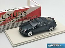 Cadillac CTS Coupe  Thunder Gray Luxury Collectibles resin LC101140 1:43