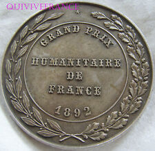MED4865 - MEDAILLE GRAND PRIX HUMANITAIRE DE FRANCE 1892