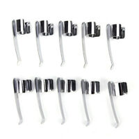 10pcs Flashlight Mount Holder, Flashlight clip ,pen clip,Stainless steel clNWUQA