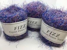 Crystal Palace Fizz Eyelash Yarn #7124 Brickyard Red Copper Taupe Black 50g