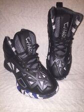 And 1 Chaos Black Grey Size 3.5