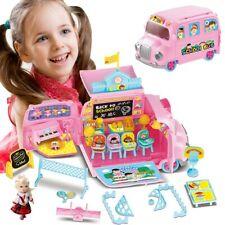 Scuola Bus Playset Scuola Giocattolo Bambini con Bambola e Accessori Gioco