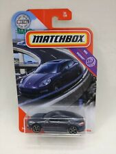 Matchbox 2010 Porche Panamera Dark Grey