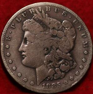 1885-S San Francisco Mint Silver Morgan Dollar