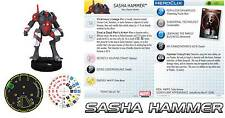 SASHA HAMMER #021 #21 The Invincible Iron Man Marvel Heroclix