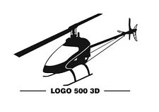 Mikado logo 500 3d fbl pegatinas