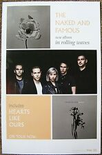 The Naked And Famous Poster 2-Sided In Rolling Waves Album