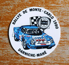 1980 Rallye Monte Carlo Lancia Stratos / Motorsport Sticker Decal