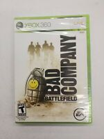 New Battlefield Bad Company Platinum Hit XBox 360 Microsoft Game & Case Sealed