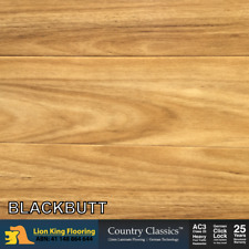 12mm Laminate Flooring/ Floating Floorboards Timber Click Lock :Blackbutt